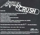 ANTHRAX Crush album cover