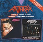 ANTHRAX Fistful of Metal / Armed And Dangerous album cover