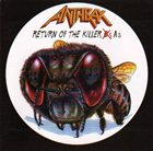 ANTHRAX Return of the Killer A's album cover