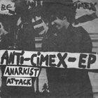 ANTI-CIMEX Anarkist Attack album cover