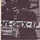 ANTI-CIMEX Cracked Cop Skulls / Anarkist Attack album cover