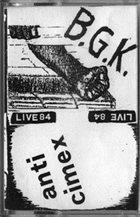 ANTI-CIMEX Live '84 album cover