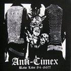 ANTI-CIMEX Raw Live 84-86!!! album cover