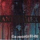 ANTI-CIMEX The Records 81-86 album cover