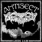 ANTISECT Leeds 2.4.86 album cover