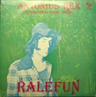 ANTONIUS REX Ralefun album cover