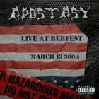 APOSTASY (CT) Live At Rebfest album cover