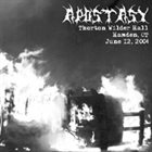 APOSTASY (CT) Thornton Wilder Hall album cover