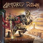 ARMORED DAWN Power of Warrior album cover
