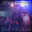 AT THE GATES Live in Krakow album cover