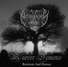 AURA HIEMIS Maeror Demens (Remixes and Demos) album cover