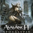 AVALANCH Malefic Time: Apocalypse album cover
