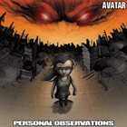 AVATAR Personal Observations album cover
