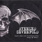 AVENGED SEVENFOLD Tracks Taken From Forthcoming Album 'City Of Evil' album cover