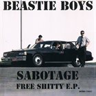 BEASTIE BOYS Sabotage: Free Shitty E.P. album cover