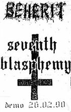 BEHERIT Seventh Blasphemy album cover