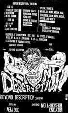 BEYOND DESCRIPTION 2nd Demo album cover