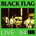 BLACK FLAG Live '84 album cover