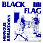 BLACK FLAG Nervous Breakdown album cover