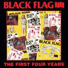 BLACK FLAG The First Four Years album cover