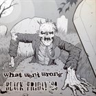 BLACK FRIDAY '29 What Went Wrong / Black Friday '29 album cover