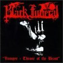 BLACK FUNERAL Vampyr: Throne of the Beast album cover