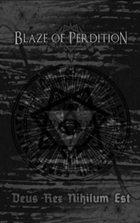 BLAZE OF PERDITION Deus Rex Nihilum Est album cover