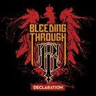 BLEEDING THROUGH Declaration album cover