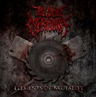 BLOOD MERIDIAN Elements of Brutality album cover