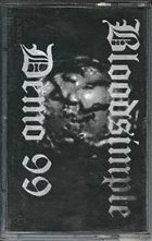 BLOODSIMPLE (LA) Demo 1999 album cover