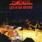 BUDGIE Life In San Antonio album cover