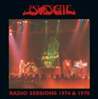BUDGIE Radio Sessions 1974 & 1978 album cover