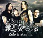 BULLET FOR MY VALENTINE Rule Britannia album cover