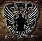 CALVARIA FUCK FEVER 24/7 Hate album cover