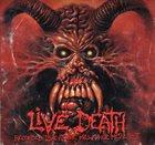 CANCER Live Death album cover