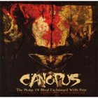 CANOPUS The Pledge of Blood Exchanged with Pain album cover