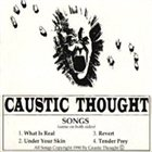 CAUSTIC THOUGHT Demo 1990 album cover