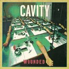 CAVITY Wounded album cover