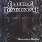 CEREBRAL HEMORRHAGE Exempting Reality album cover