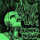 CHAOS U.K. Burning Britain EP album cover