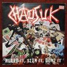 CHAOS U.K. Heard It, Seen It, Done It album cover