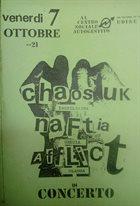 CHAOS U.K. In Concerto Al Centro Sociale Autogestito album cover