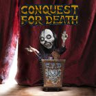 CONQUEST FOR DEATH Front Row Tickets To Armageddon album cover