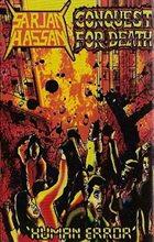CONQUEST FOR DEATH Human Error album cover