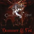 CONQUEST OF STEEL Hammer and Fist album cover