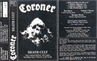 CORONER Death Cult album cover