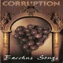 CORRUPTION Bacchus Songs album cover