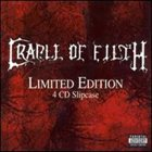 CRADLE OF FILTH Limited Edition 4 CD Slipcase album cover