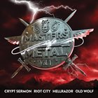 CRYPT SERMON Masters of Metal: Vol. 1 album cover