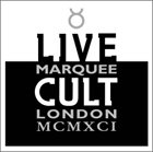 THE CULT Live Marquee London MCMXCI album cover